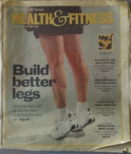 Build Better Legs Article in Detroit News