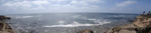 panoramic photo of pacific ocean at la jolle on a search for greater wellbeing