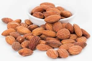 whole almonds - healthy body fuel