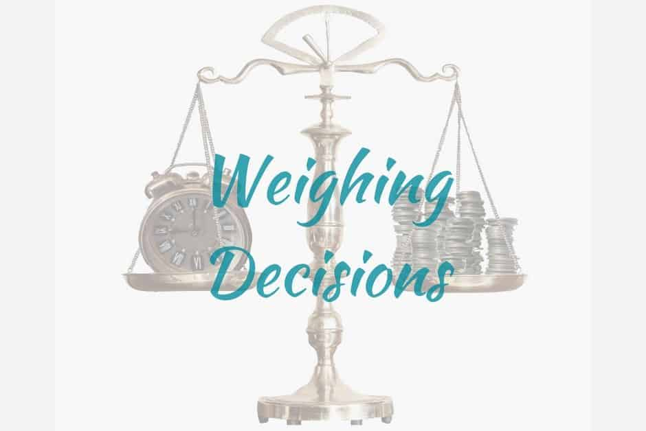 The Choice Is Yours – Allow Your Personal Values To Guide Your Decision