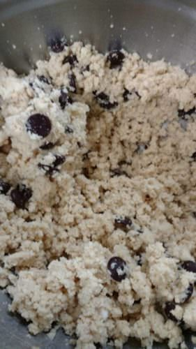 Gluten-Free Chocolate Chip Cookie dough