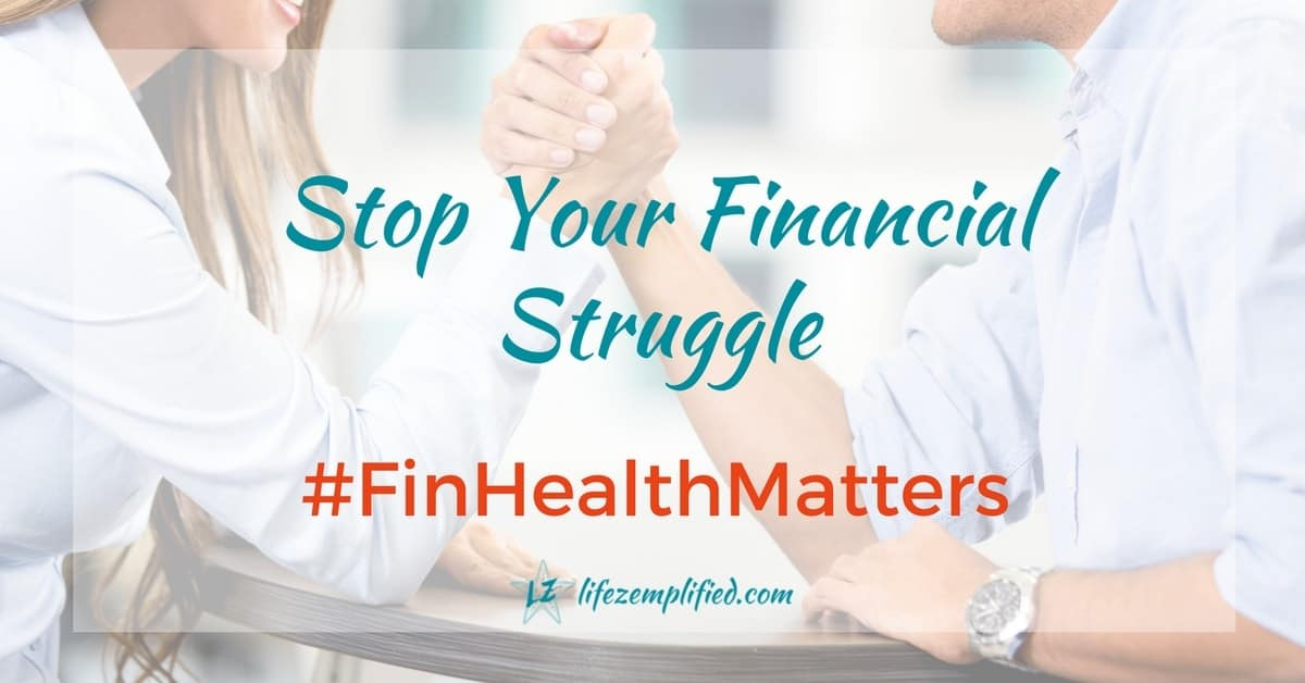 What Financial Health Means to Me #FinHealthMatters