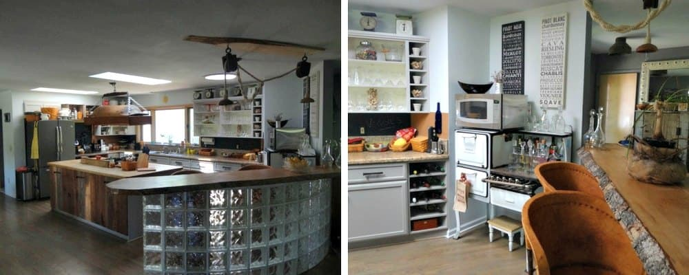 DIY Rustic Kitchen Redo 1 After
