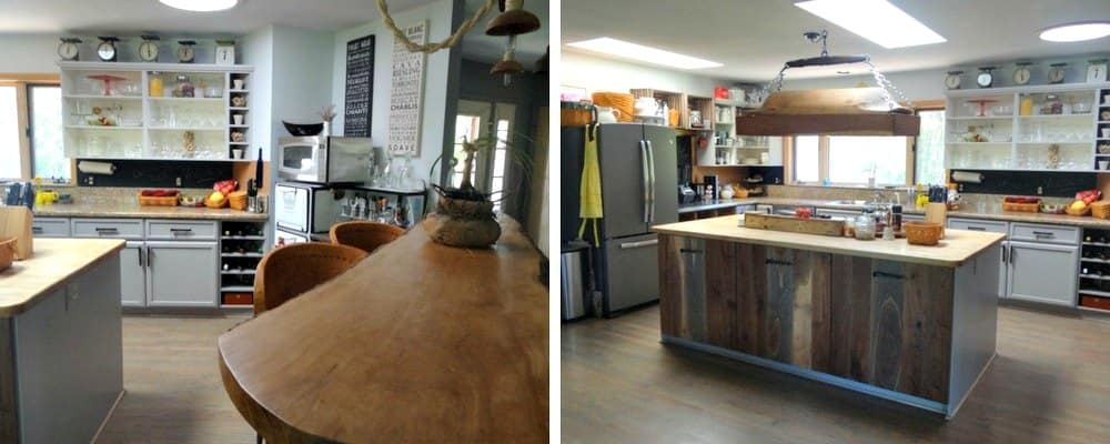 DIY Rustic Kitchen Redo 2 After