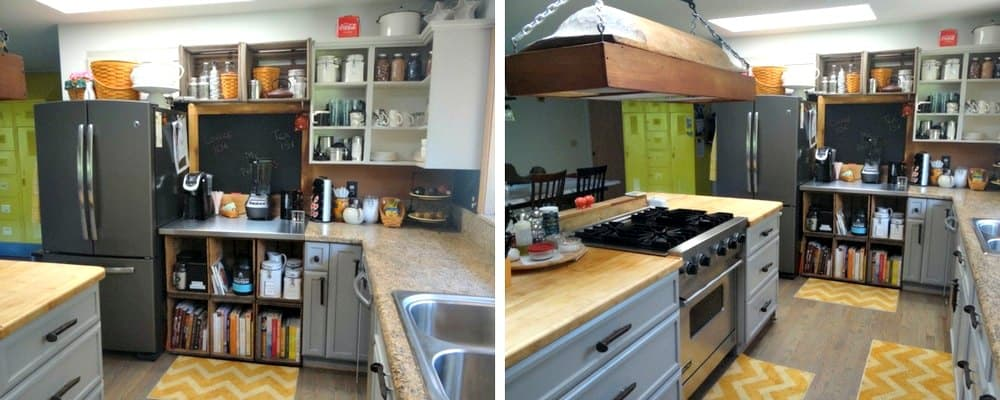 DIY Rustic Kitchen Redo 3 After
