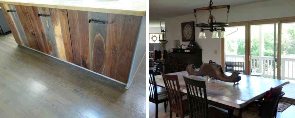 DIY Rustic Kitchen Redo 4 After