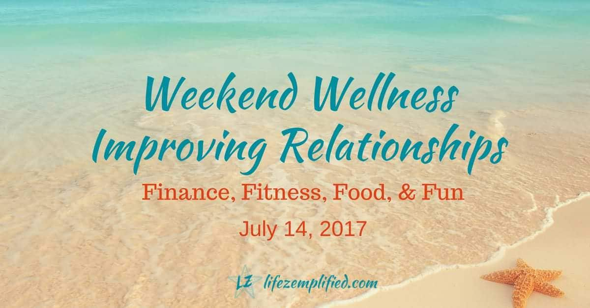 Improving Your Relationship With Finances, Fitness, Food, and Fun