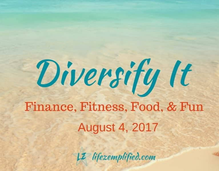 Welcome to the 14th edition of Weekend Wellness! Today I'm talking about diversifying your life, specifically in the areas of finance, fitness, food & fun
